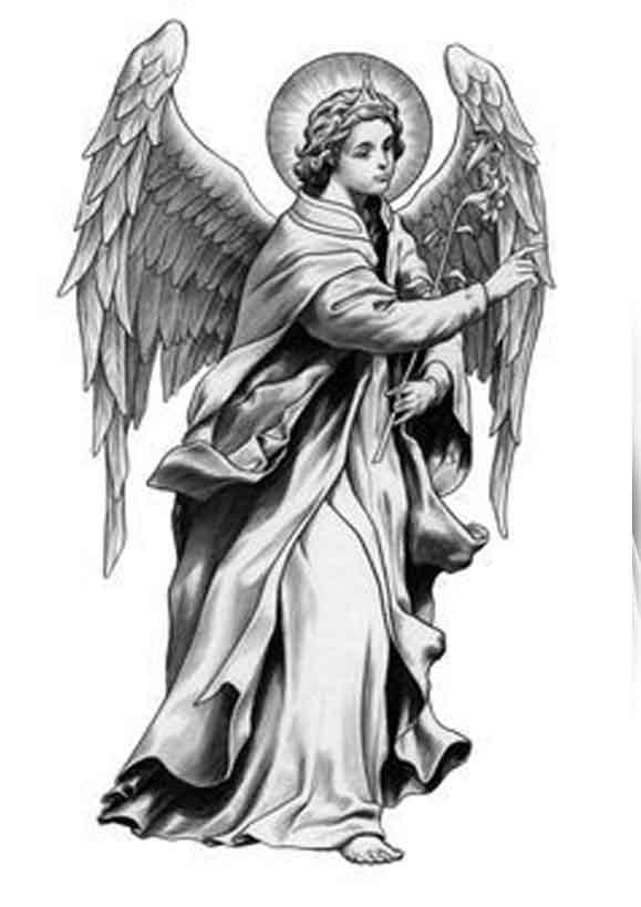 Ангелы картинки эскизы