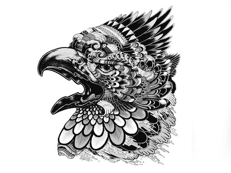 тату орел картинки