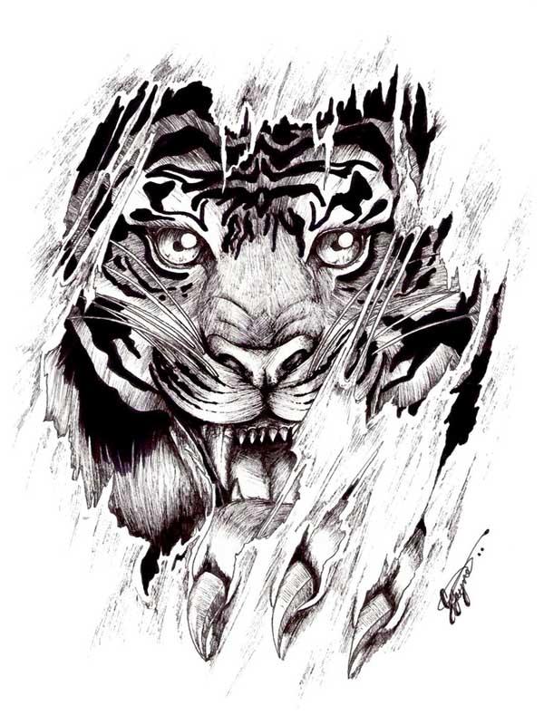 тату картинки львов